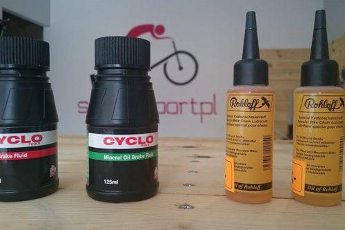 Oleje do rowerów